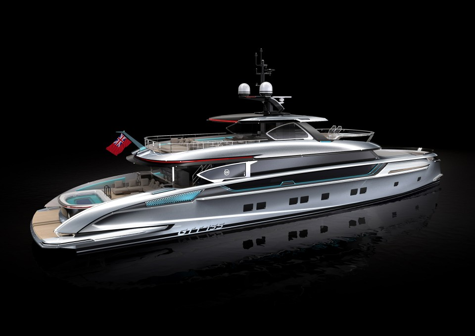 M/Y GTT 135 Yacht #1