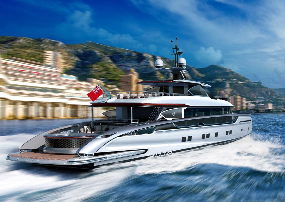 M/Y GTT 135 Yacht #9