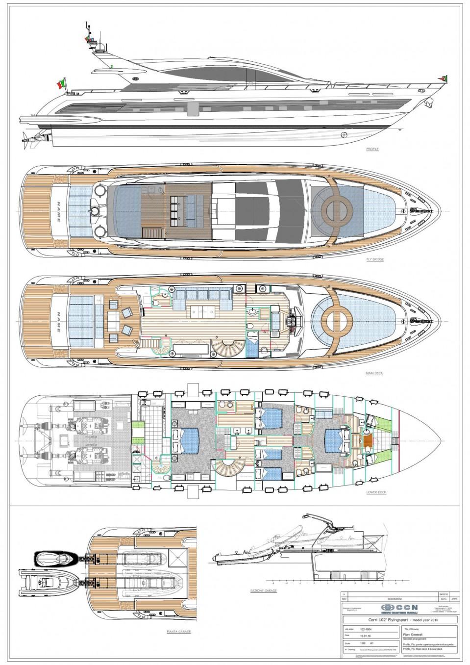 M/Y CCN 102' FlyingSport Yacht #27