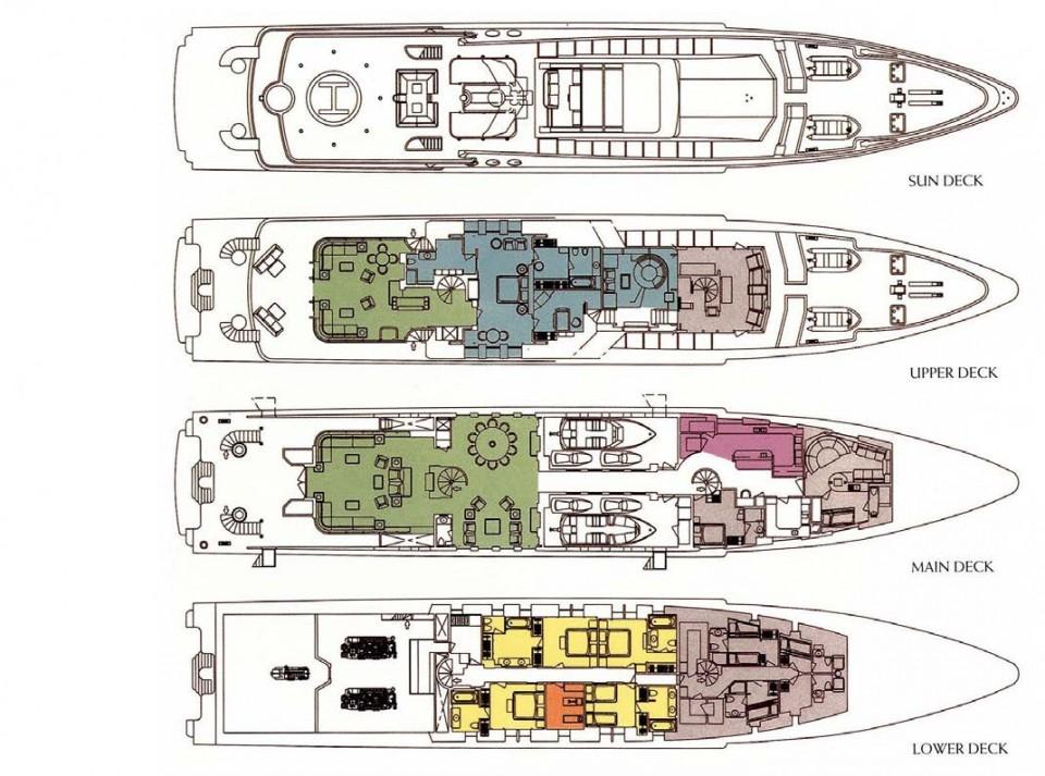 M/Y Oceana Yacht #44