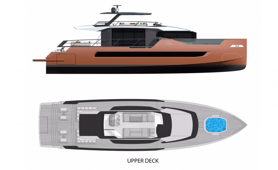 M/Y XSR 85 Yacht #4