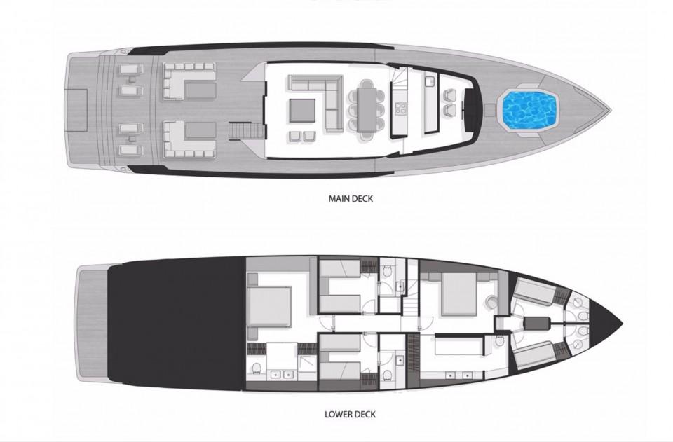 M/Y XSR 85 Yacht #5