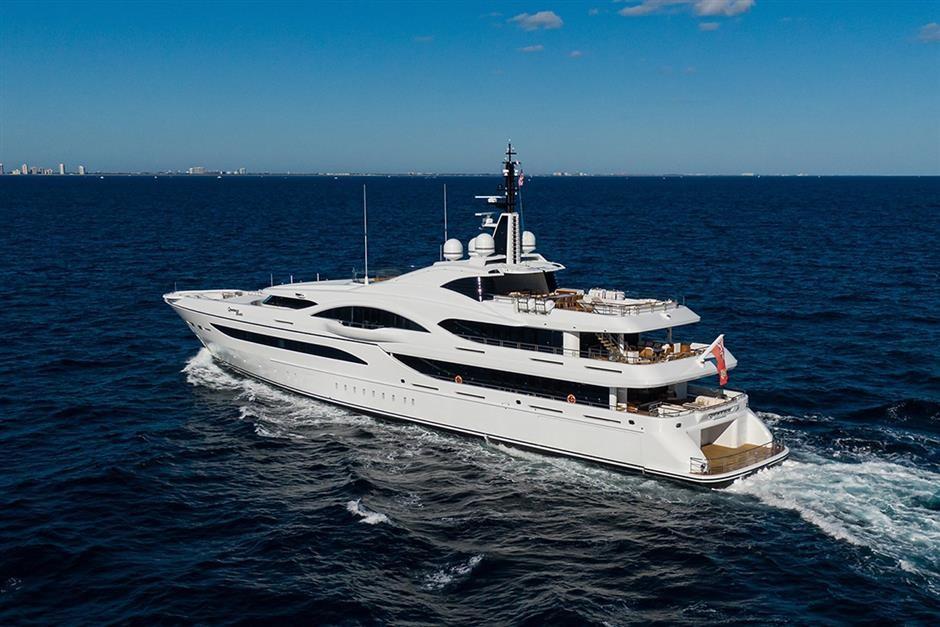 M/Y QUANTUM OF SOLACE Yacht #3