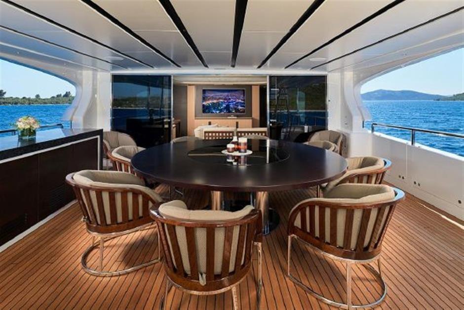 M/Y 2018 Benetti Mediterraneo 116 - Virgin Islands Yacht #9