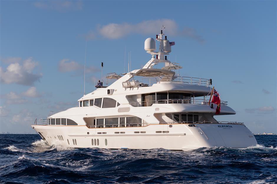 M/Y ALEGRIA Yacht #22
