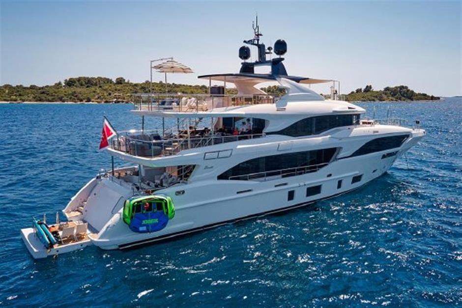 M/Y 2018 Benetti Mediterraneo 116 - Virgin Islands Yacht #3