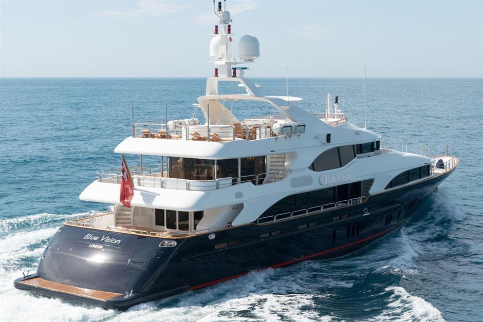 M/Y BLUE VISION  Yacht #4