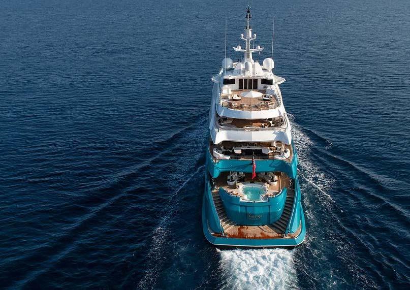 M/Y SUNRAYS Yacht #53