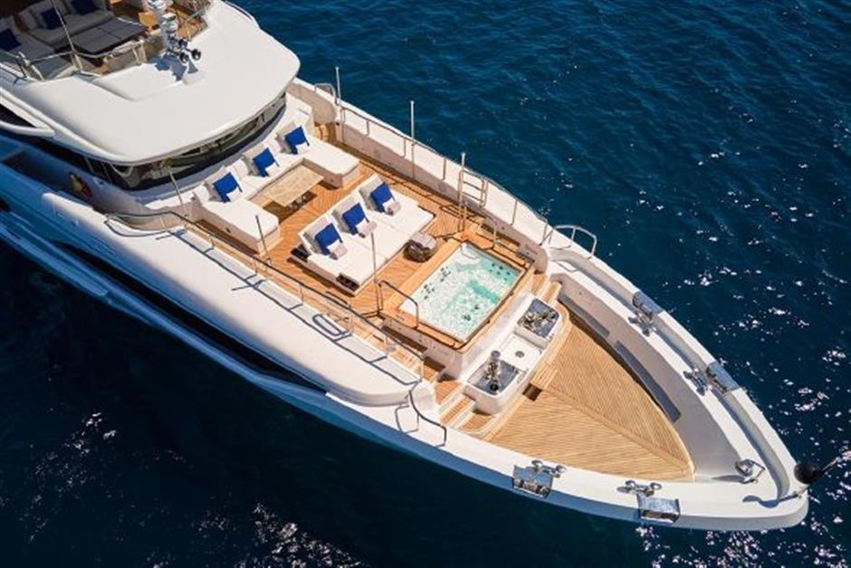 M/Y 2018 Benetti Mediterraneo 116 - Virgin Islands Yacht #5