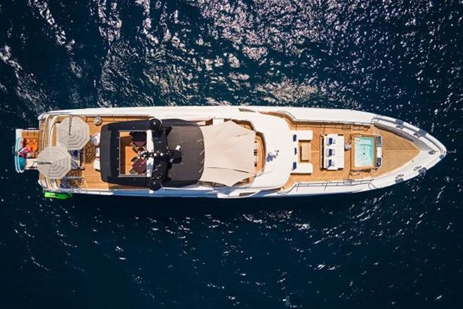 M/Y 2018 Benetti Mediterraneo 116 - Virgin Islands Yacht #4