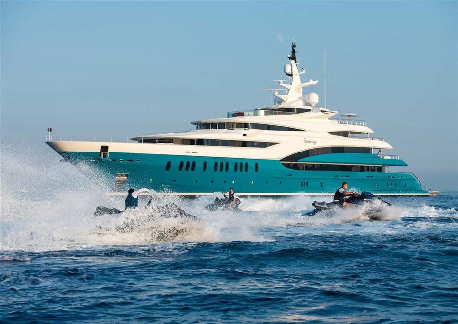 M/Y SUNRAYS Yacht #58