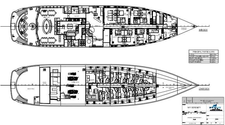 M/Y SERENITY Yacht #48