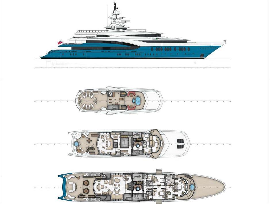 M/Y SUNRAYS Yacht #63