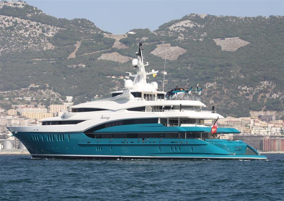 M/Y SUNRAYS Yacht #54