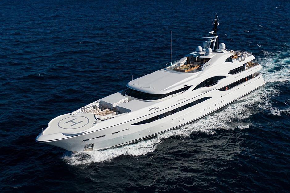 M/Y QUANTUM OF SOLACE Yacht #1
