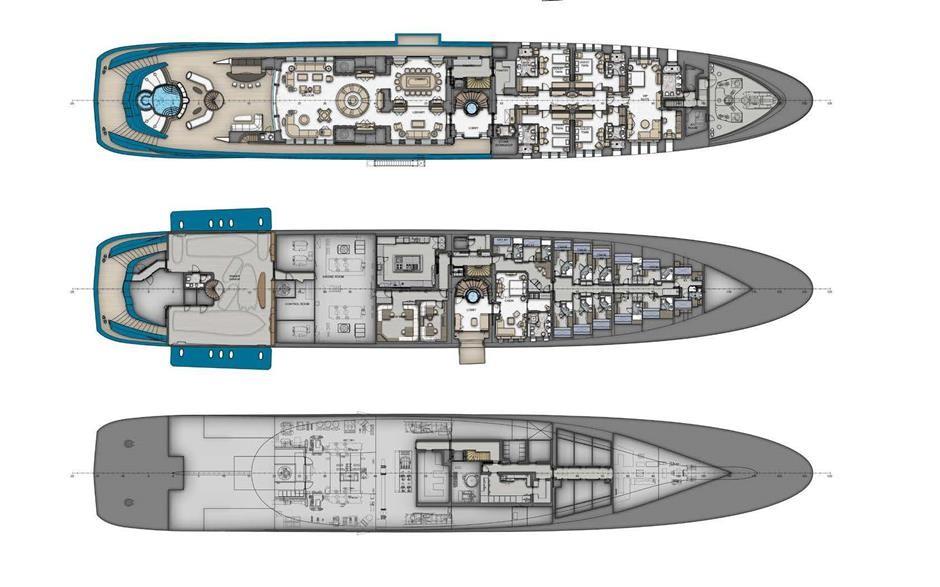 M/Y SUNRAYS Yacht #64