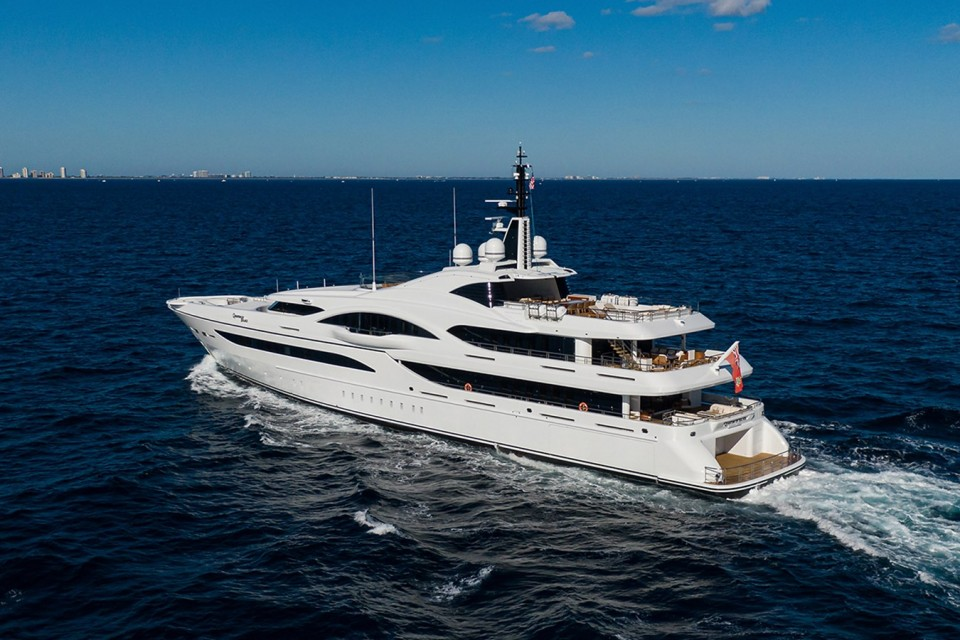 M/Y QUANTUM OF SOLACE Yacht #3