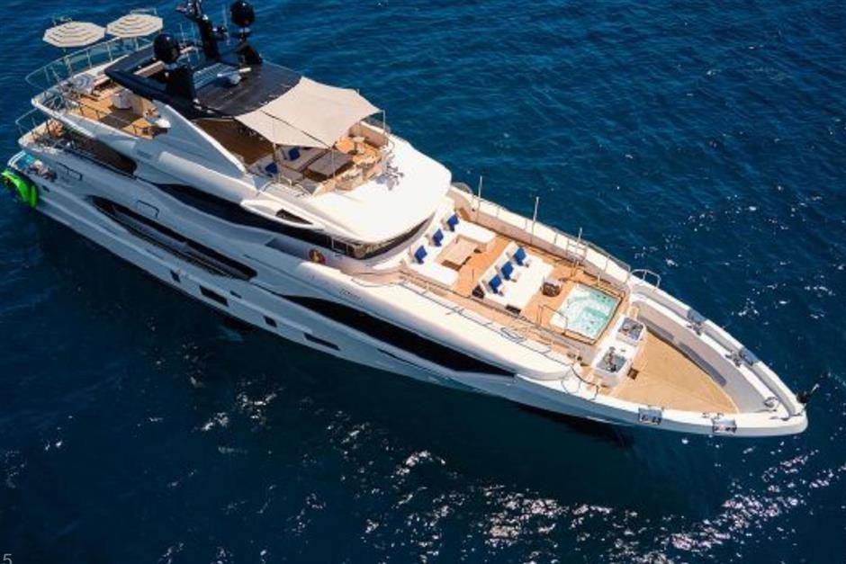M/Y 2018 Benetti Mediterraneo 116 - Virgin Islands Yacht #1