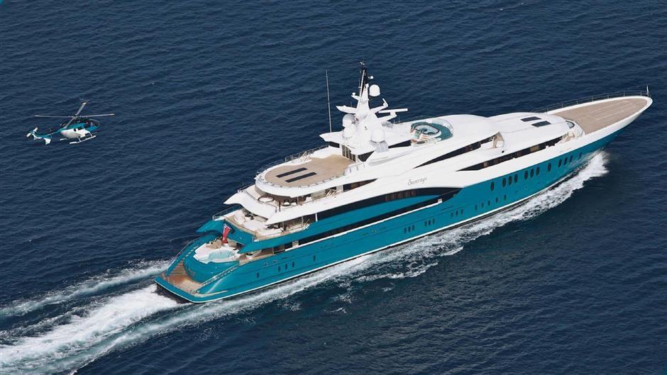 M/Y SUNRAYS Yacht #1