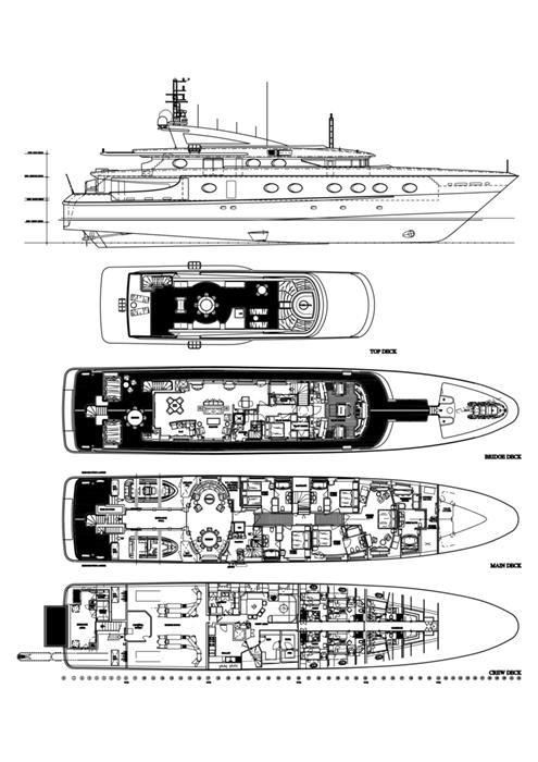 M/Y Queen Aida Yacht #35