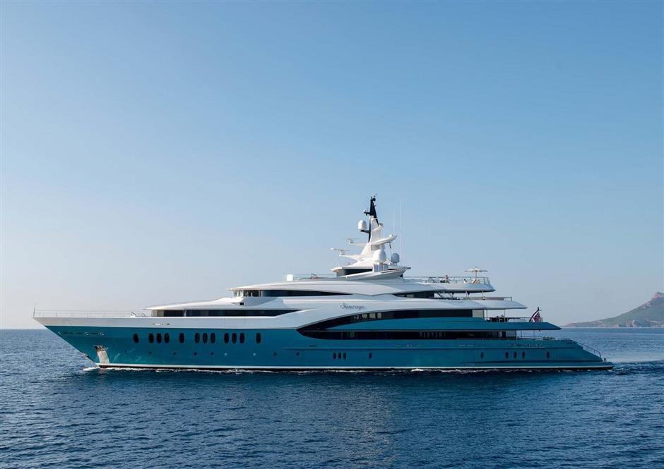 M/Y SUNRAYS Yacht #62