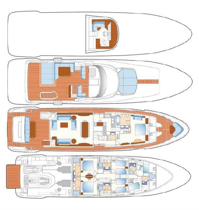 M/Y SUNRISE Yacht #42