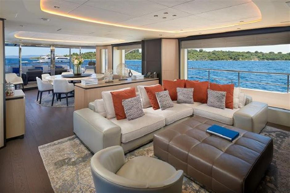 M/Y 2018 Benetti Mediterraneo 116 - Virgin Islands Yacht #15