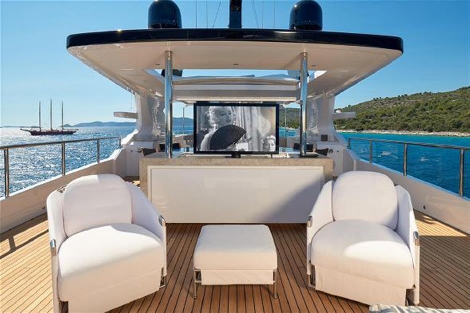 M/Y 2018 Benetti Mediterraneo 116 Yacht #8
