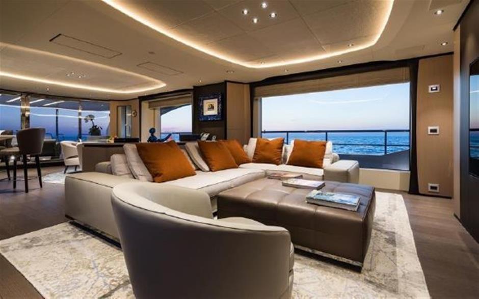 M/Y 2018 Benetti Mediterraneo 116 Yacht #9