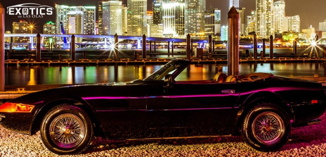 Miami Vice Ferrari Daytona Spyder Featured At Exotics On Las