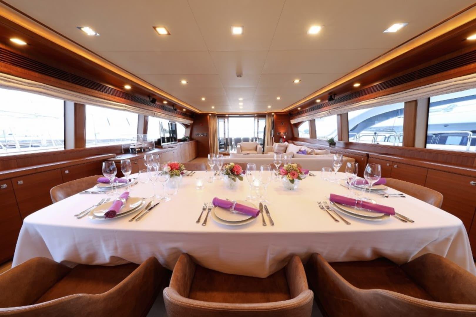 M/Y Custom Line 112 Next Yacht #10