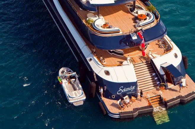 Solandge Yacht Charter Lurssen Luxury Superyacht