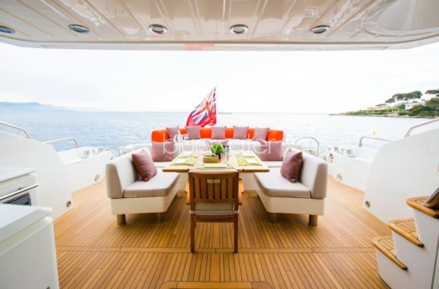 Моторная яхта Firecracker Yacht #8