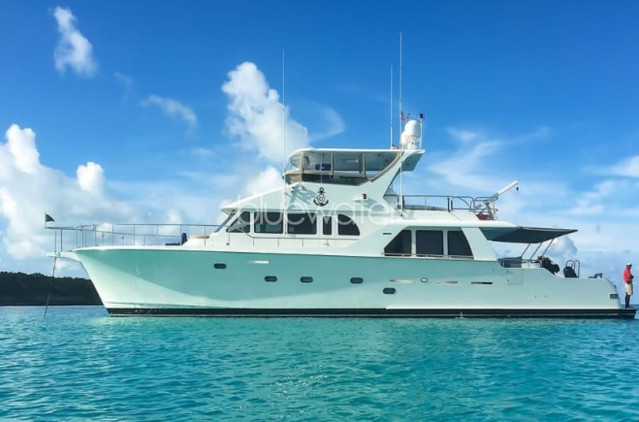 Моторная яхта Illiquid Yacht #2