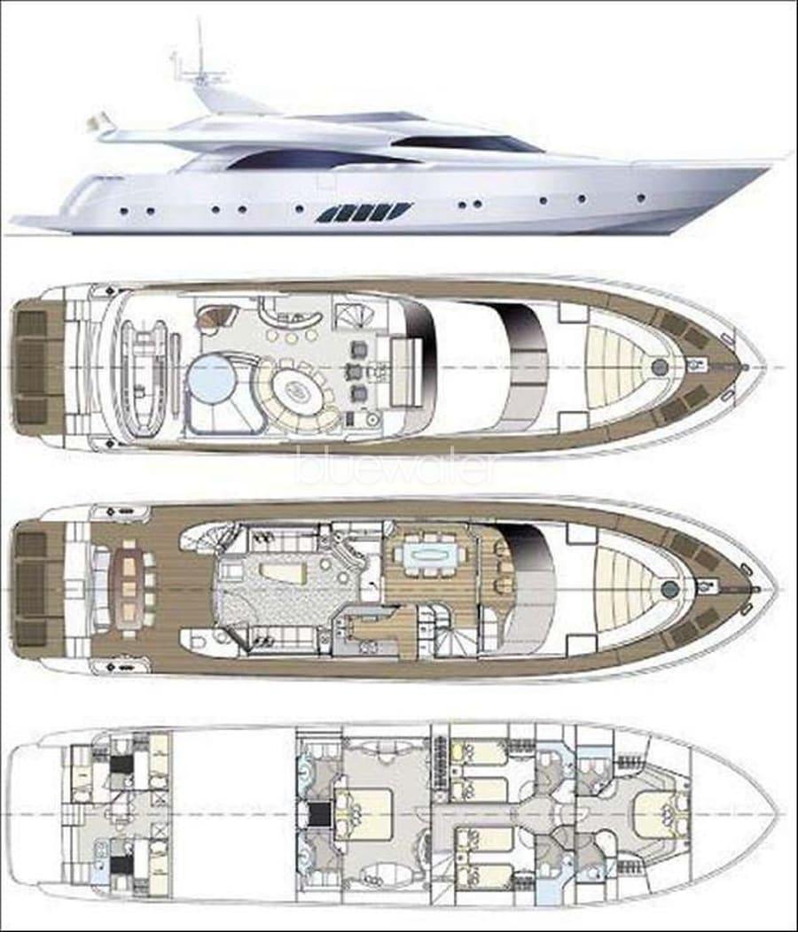 Моторная яхта Vellmari Yacht #23