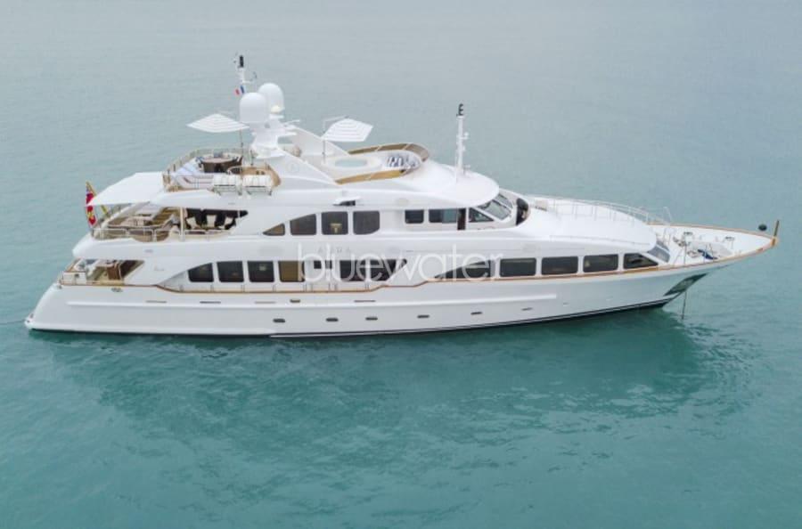 Моторная яхта Aura Yacht #1