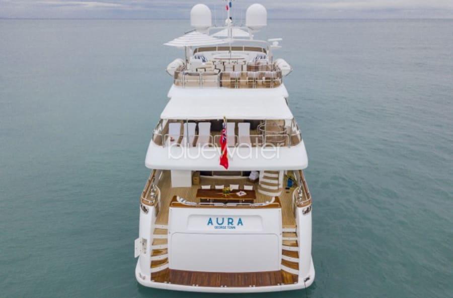 Моторная яхта Aura Yacht #2