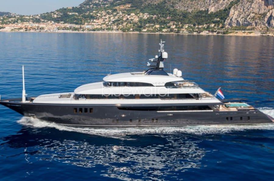 Моторная яхта ICON Yacht #1