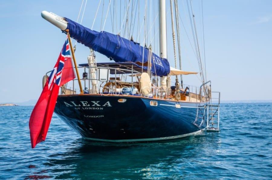 Парусная яхта Alexa of London Yacht #6