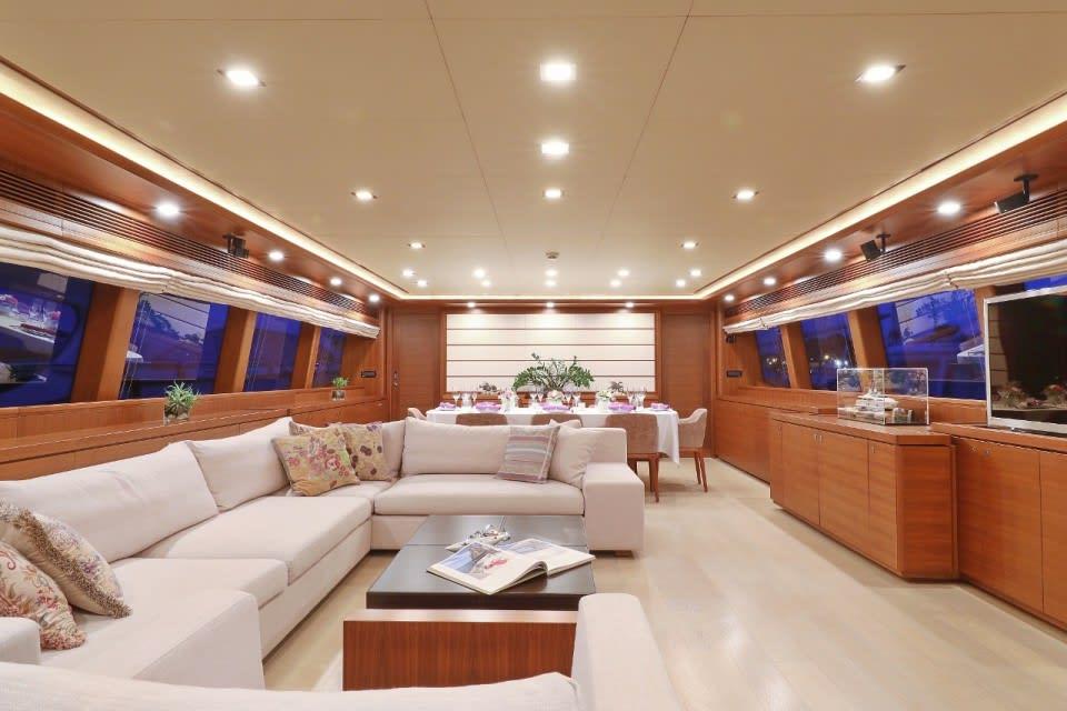 M/Y Custom Line 112 Next Yacht #13
