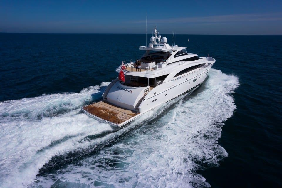 M/Y Paradise Yacht #12