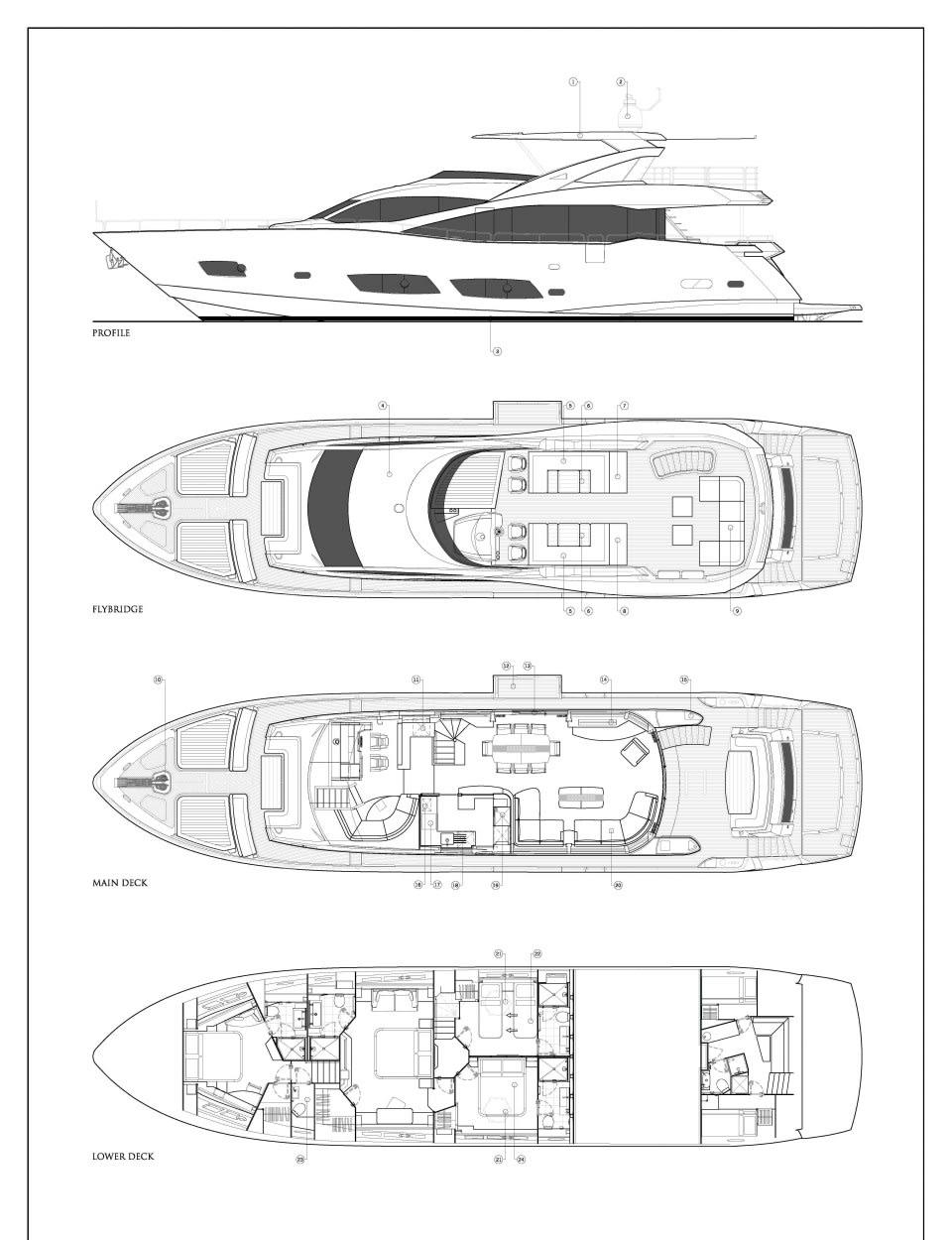 Моторная яхта Play the Game Yacht #28