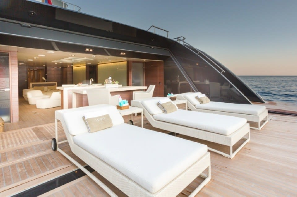 Моторная Icon Yacht #5