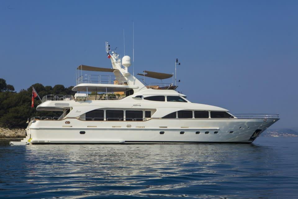 Моторная яхта QUID PRO QUO Yacht #4
