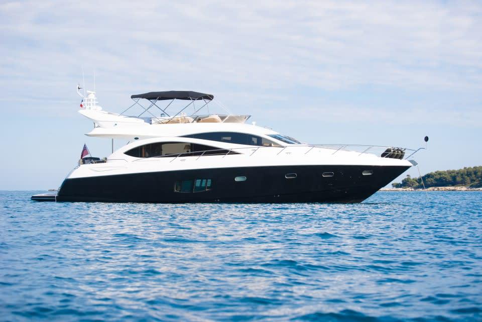 Моторная яхта LAZY P Yacht #1
