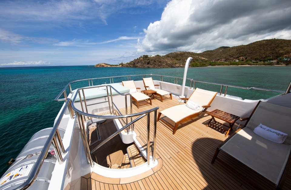 Моторная яхта Just Enough Yacht #27