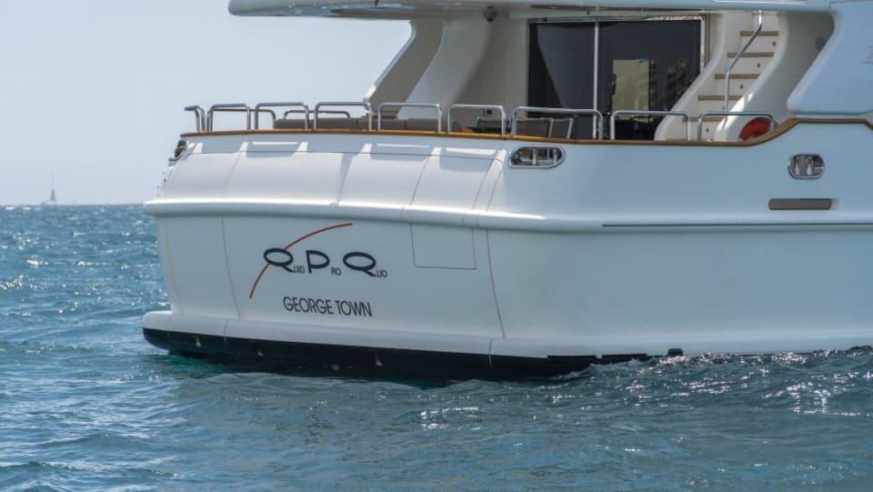 Моторная яхта QUID PRO QUO Yacht #2