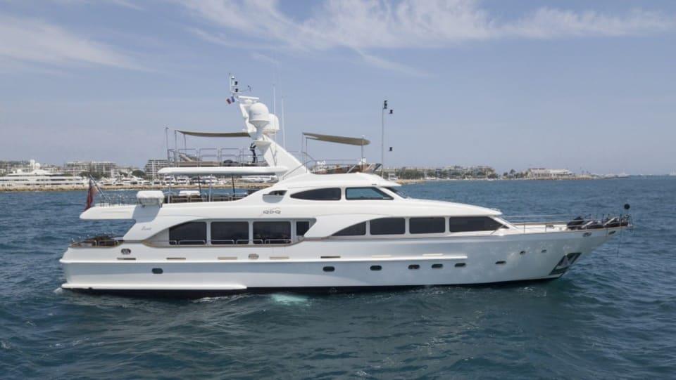 Моторная яхта QUID PRO QUO Yacht #1