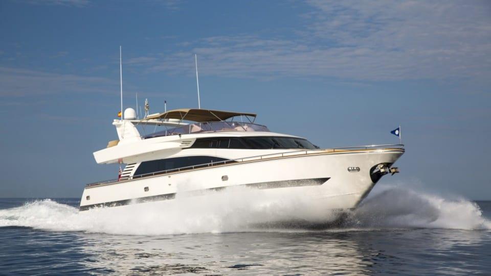 Моторная яхта Vogue Yacht #1