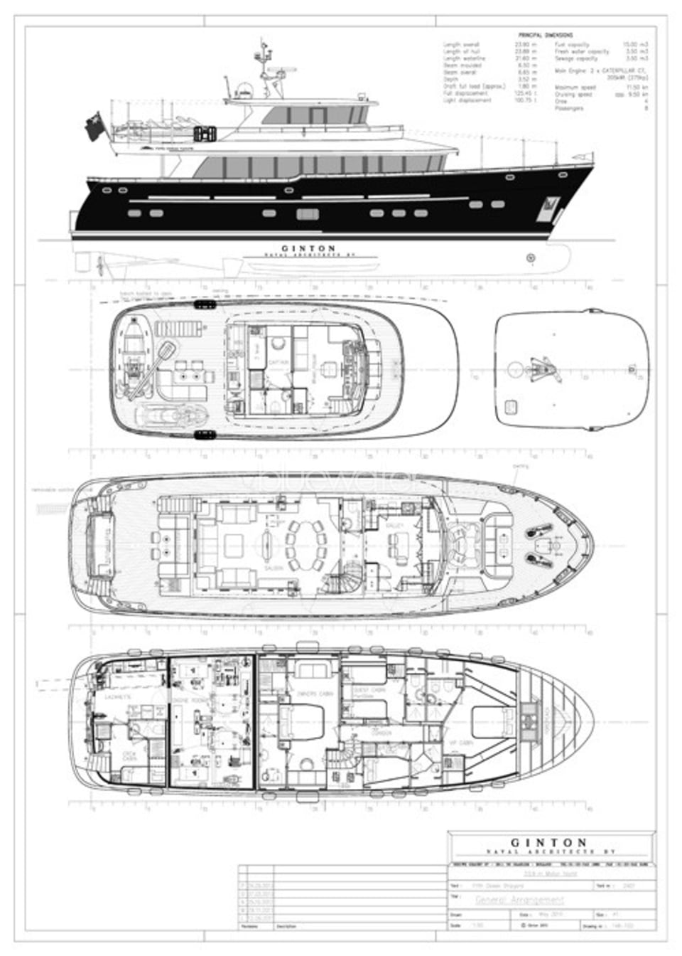 M/Y Destiny Yacht #36